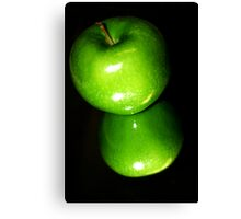 Apple Reflection Canvas Print