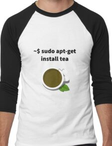 Linux sudo apt-get install tea Men's Baseball ¾ T-Shirt