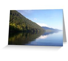 Lake Cowichan, Vancouver Island, BC, Canada Greeting Card