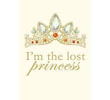 The Lost Princess Photographic Print