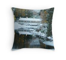 Loch Ordie Lodge, Scotland Throw Pillow