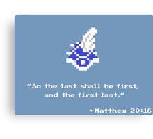 Mario Kart Blue Shell - 8-bit 2 Canvas Print