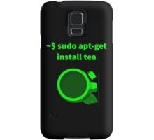Linux sudo apt-get install tea Samsung Galaxy Case/Skin