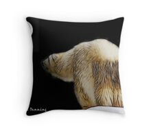 Debbie and the moon Throw Pillow