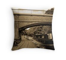 Passed on the Canal Throw Pillow