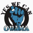 obama : blue blooded fist by asyrum