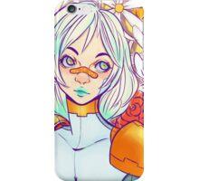 Mecha Flowers iPhone Case/Skin