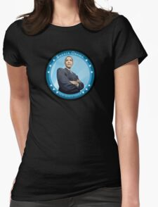 barack obama : new world order Womens Fitted T-Shirt