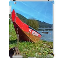 Traditional firefighter boat | landscape photography iPad Case/Skin