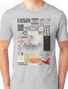 39 Favourite Film Quotes Unisex T-Shirt