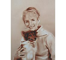 Carol and Buster Photographic Print