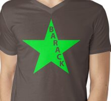 barack star Mens V-Neck T-Shirt