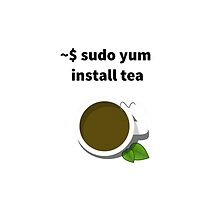 Linux sudo yum install tea by boscorat