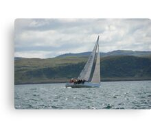 West Highland Week 2007 - HAYLEY'S COMET Canvas Print