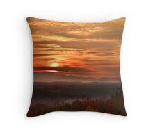 Tennessee Sunrise Throw Pillow