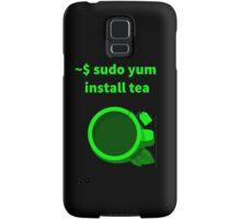 Linux sudo yum install tea Samsung Galaxy Case/Skin