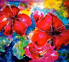 Tropics..Hibiscus Morning by © Janis Zroback