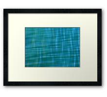 Pacific Ocean Blues Framed Print
