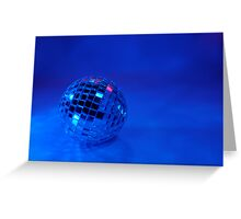 Feeling Blue for Christmas Greeting Card