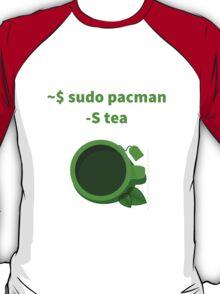 Linux sudo pacman -S tea T-Shirt