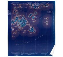 Maine USGS Historical Map Swan Island 807696 1904 62500 Inversion Poster