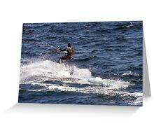 Windsurfer Greeting Card