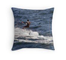 Windsurfer Throw Pillow