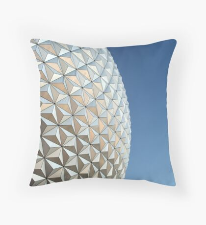 Sphere Of Triangles... Throw Pillow