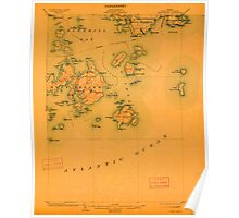 Maine USGS Historical Map Swan Island 807697 1904 62500 Poster