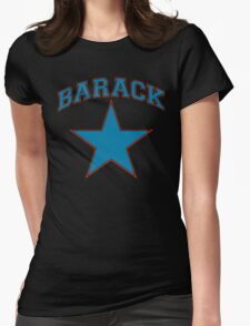 barack star Womens Fitted T-Shirt