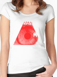 Red Eye Women's Fitted Scoop T-Shirt