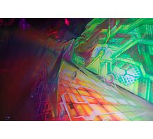Tropical psy Road Photographic Print