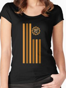 Tiger - Flag Women's Fitted Scoop T-Shirt