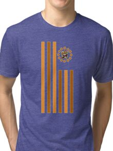 Tiger - Flag Tri-blend T-Shirt