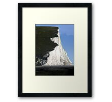 Start of the Seven Sisters at Cuckmere Haven Framed Print
