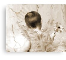 First Photoshopped Image Canvas Print