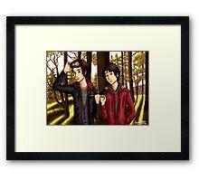 Jasper and Monty Framed Print