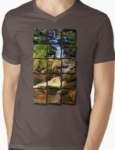 Mighty waterfall | landscape photography Mens V-Neck T-Shirt