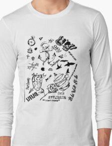 Larry Stylinson tattoos Long Sleeve T-Shirt