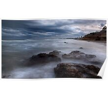 """High Tide"",Anglesea,Great Ocean Road,Australia. Poster"