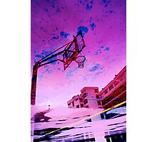 Acid Rose Water BBall Photographic Print