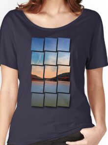 Danube river valley | waterscape photography Women's Relaxed Fit T-Shirt