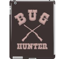 BUG HUNTER - Western Style Design for Test Engineers Skin Font on Brown iPad Case/Skin