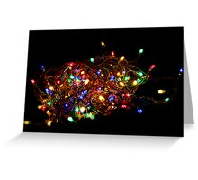 Christmas Lights Greeting Card