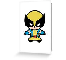 Funny Wolverine Greeting Card