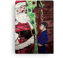 MERRY CHRISTMAS BELLY TO BELLY Canvas Print