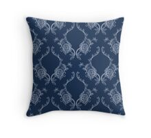 Elegance Seamless pattern with flowers ornament Throw Pillow