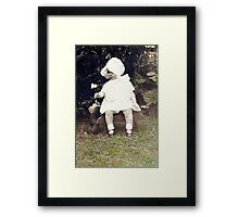 Mom and Winnie Framed Print