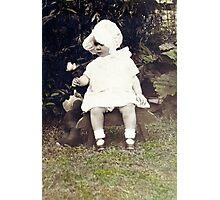 Mom and Winnie Photographic Print