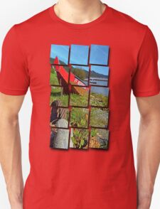 Traditional firefighter boat | landscape photography Unisex T-Shirt
